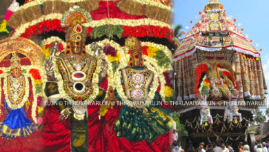 Photo of Thiruvaiyaru Chithirai Festival 2016 Day 9 Video