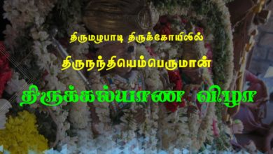 Photo of Thirumazhapadi Nandi Kalyanam 2017 Video