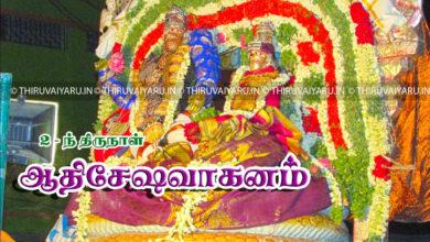 Photo of Day 2 Thiruvaiyaru Chithirai Festival 2017 (Adhishesha Vahanam) Video & Photos