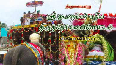 Photo of Thiruvaiyaru Sri Aiyarappar Thiruther Vellottam