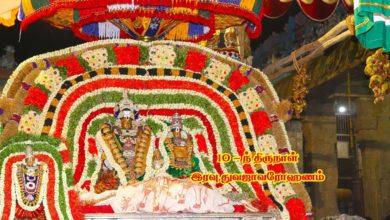 Photo of Thiruvaiyaru Sapthasthanam Chithirai Festival 2019 – Day 10 Dwajavarohanam FullHD