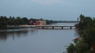 Photo of Evening Terrace View of River Cauvery at Thiruvaiyaru
