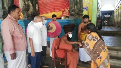 Photo of Providing Kabasura Drinking Water in Dharmapuram