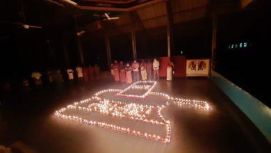 Photo of 1008 Lamps were lightened in Dharmapuram Adheenam