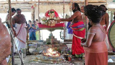 Photo of Sri Vanadurga Vasanth navarathri poorthi Chandihomam happened in Dharmapuram