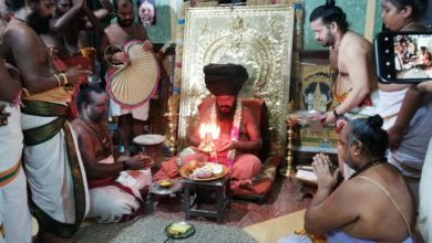 Photo of Yakasala's First Darshan-Dharmapuram Adheenam